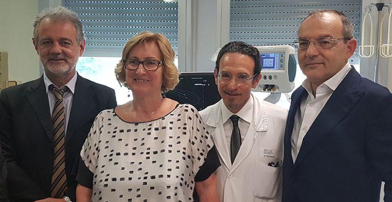 L'Ospedale di Carpi è l'unico in Regione a eseguire la termoablazione laser per il trattamento dei noduli benigni della tiroide