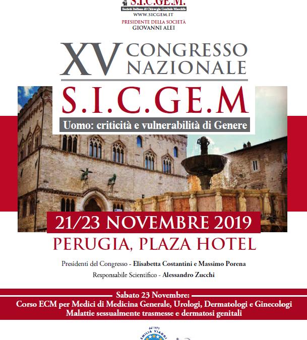 XV Congresso Nazionale S.I.C.GE.M