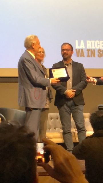 Tuscany research, Golden Pegasus price for Leonardo Masotti