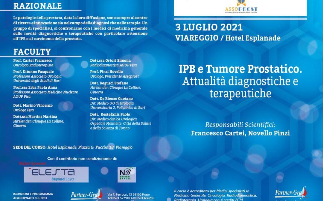 IPB e Tumore Prostatico: Attualità diagnostiche e terapeutiche